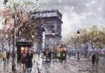 PAR0002 - Oil Painting of Paris