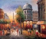 PAR0005 - Oil Painting of Paris