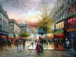 PAR0008 - Oil Painting of Paris