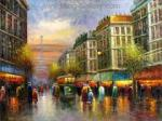 PAR0028 - Oil Painting of Paris