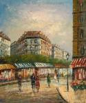 PAR0032 - Oil Painting of Paris