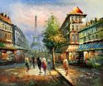 PAR0034 - Oil Painting of Paris