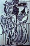 Picasso, PIC0136 Picasso Painting Art Reproduction