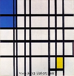 Mondrian, PMO0001 Mondrian Art Reproduction
