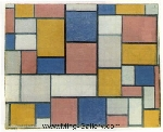 Mondrian, PMO0005 Mondrian Art Reproduction