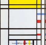 Mondrian, PMO0008 Mondrian Art Reproduction