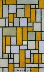 Mondrian, PMO0011 Mondrian Art Reproduction
