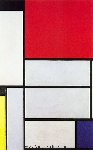 Mondrian, PMO0012 Mondrian Art Reproduction