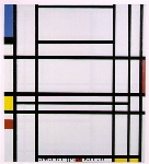 Mondrian, PMO0014 Mondrian Art Reproduction