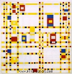 Mondrian, PMO0015 Mondrian Art Reproduction
