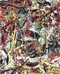 Pollock, POL0001 Abstract Expressionist Art Reproduction