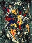 Pollock, POL0004 Abstract Expressionist Art Reproduction