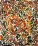 Pollock, POL0006 Abstract Expressionist Art Reproduction
