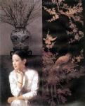 PRT0083 - OilonCanvas Painting of Oriental Lady for Sale