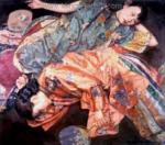 PRT0118 - OilonCanvas Painting of Oriental Lady for Sale