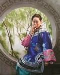 PRT0153 - OilonCanvas Painting of Oriental Lady for Sale