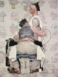 Rockwell, ROC0002 Norman Rockwell Copy Art Painting