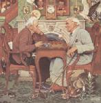 Rockwell, ROC0009 Norman Rockwell Copy Art Painting