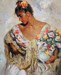 Jose, Royo7 Royo Art Reproduction Painting