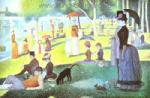 Seurat, SEU0001 Georges Seurat Impressionist Painting Reproduction
