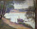 Seurat, SEU0023 Georges Seurat Impressionist Painting Reproduction