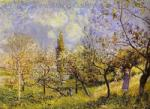 Sisley,  SIS0001 Alfred Sisley Impressionist Art Reproduction Painting