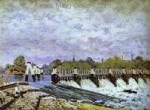 Sisley, SIS0005 Alfred Sisley Impressionist Art Reproduction Painting