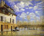 Sisley, SIS0008 Alfred Sisley Impressionist Art Reproduction Painting