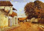 Sisley, SIS0032 Alfred Sisley Impressionist Art Reproduction Painting