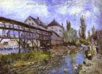 Sisley, SIS0034 Alfred Sisley Impressionist Art Reproduction Painting