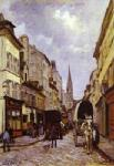 Sisley, SIS0043 Alfred Sisley Impressionist Art Reproduction Painting