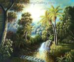 Tropical Landscape Oil Painting for Sale