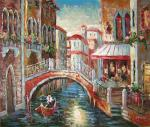 Oil Painting of Venice