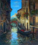 VEN0015 - Oil Painting of Venice