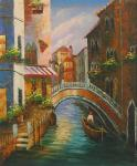VEN0017 - Oil Painting of Venice