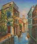 VEN0019 - Oil Painting of Venice