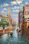 VEN0031 - Oil Painting of Venice