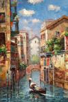 VEN0032 - Oil Painting of Venice