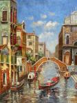VEN0034 - Oil Painting of Venice