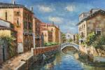 VEN0037 - Oil Painting of Venice