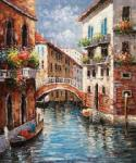 VEN0039 - Oil Painting of Venice