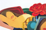 Wesselmann, Wes2 Wesselmann Art Reproduction Painting