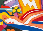 Wesselmann, Wes5 Wesselmann Art Reproduction Painting
